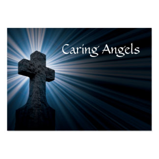 Caring Angels Nursing Care Business Card Template