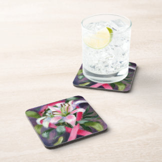 Caring Breast Cancer Awareness Coasters