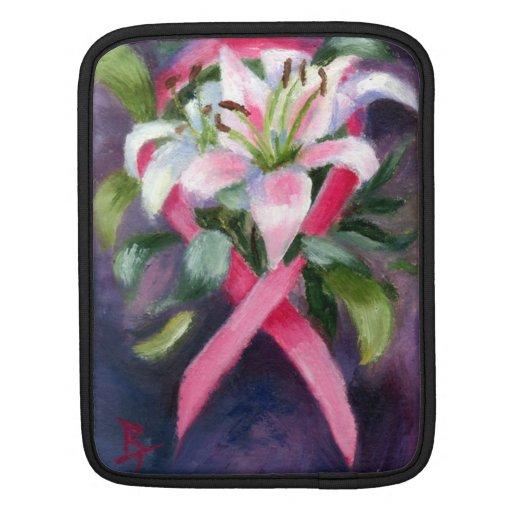 Caring Breast Cancer Awareness iPad Sleeve
