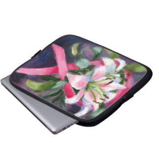 Caring Breast Cancer Awareness Laptop Case Computer Sleeves