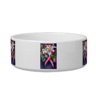 Caring Breast Cancer Awareness Pet Bowls