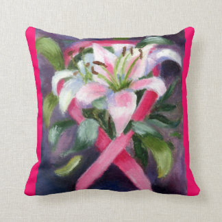 Caring Breast Cancer Awareness pillows