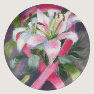 Caring Breast Cancer Awareness Plate