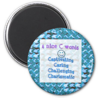 CARING Challenging,Charismatic,Personality:LOWPRIC Refrigerator Magnet