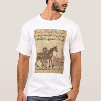 Caring for the horse, illustration T-Shirt
