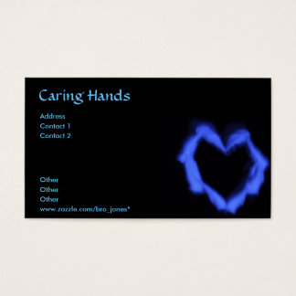 Caring Hands Business Card