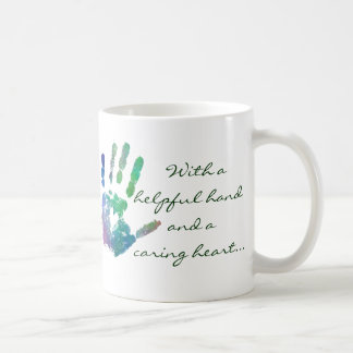 Caring heart mug