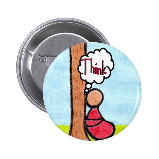 CARING IMAGES~THINK button