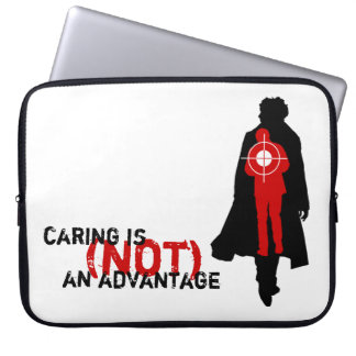 Caring Is (Not) An Advantage Laptop Sleeve