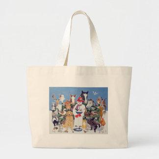 Caring Large Tote Bag