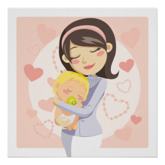 Caring Mother Poster