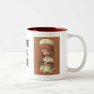 Caring Two-Tone Coffee Mug