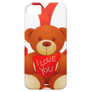 Caring Teddy, Love , Romantic iPhone SE/5/5s Case