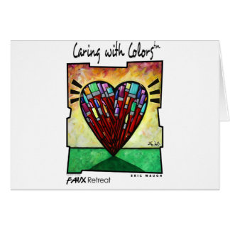 Caring with Colors Card