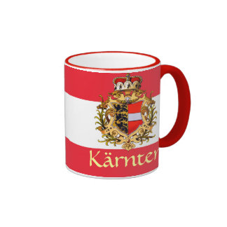 Carinthia Coat of Arms Ringer Coffee Mug