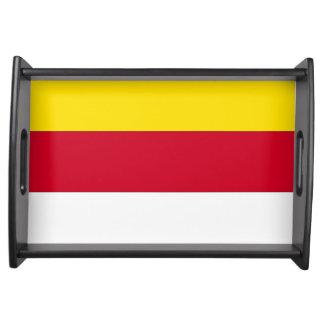Carinthia Flag Serving Platters