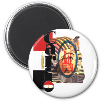 Cario Egypt 2 Inch Round Magnet
