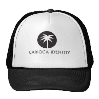 Carioca blazon Identity - Coconut palm Trucker Hat