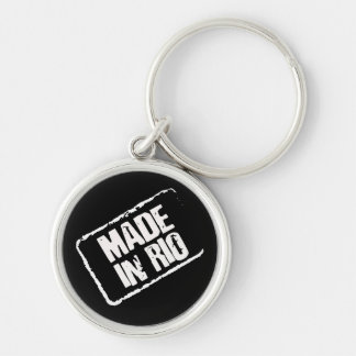 CARIOCA MADE IN RIO STAMP KEYCHAIN