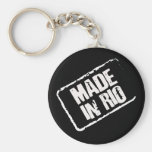 CARIOCA MADE IN RIO STAMP KEYCHAINS