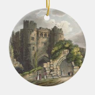 Carisbrook Castle, from 'The Isle of Wight Illustr Ceramic Ornament