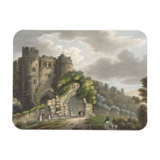 Carisbrook Castle, from 'The Isle of Wight Illustr Magnet