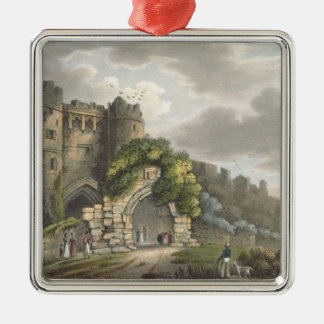 Carisbrook Castle, from 'The Isle of Wight Illustr Metal Ornament