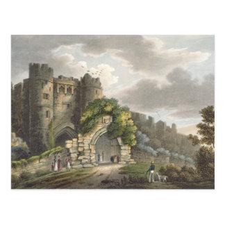 Carisbrook Castle, from 'The Isle of Wight Illustr Postcard