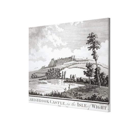 Carisbrook Castle, in the Isle of Wight Canvas Prints