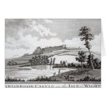 Carisbrook Castle, in the Isle of Wight Greeting Card