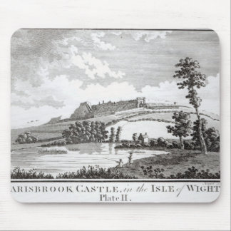Carisbrook Castle, in the Isle of Wight Mouse Pad