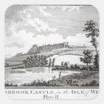 Carisbrook Castle, in the Isle of Wight Square Sticker