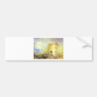 Carisbrook Castle, Isle of Wight by William Turner Bumper Sticker