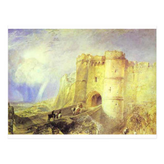 Carisbrook Castle, Isle of Wight by William Turner Postcard