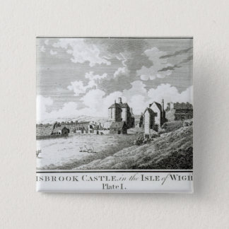 Carisbrook Castle, Isle of Wight, Plate I Pinback Button
