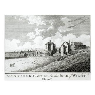 Carisbrook Castle, Isle of Wight, Plate I Postcard