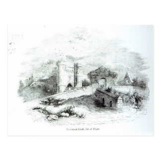 Carisbrook Castle, Isle of Wight Postcard