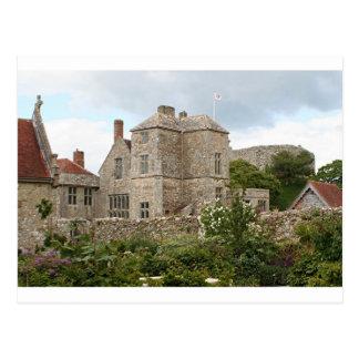 Carisbrooke Castle, Isle of Wight, England, UK Postcard