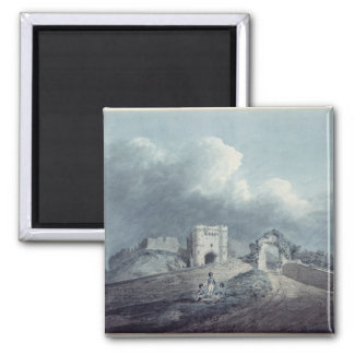 Carisbrooke Castle 2 Inch Square Magnet