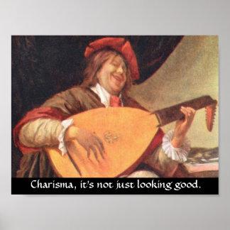 Carisma, apenas no está pareciendo bueno póster