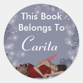 Carita Classic Round Sticker