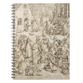 Caritas caridad por Pieter Bruegel la anciano Cuaderno