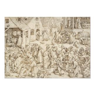 Caritas (Charity) by Pieter Bruegel the Elder Card