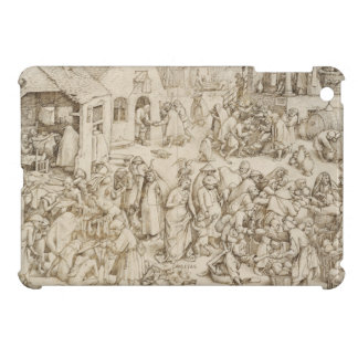 Caritas (Charity) by Pieter Bruegel the Elder Cover For The iPad Mini