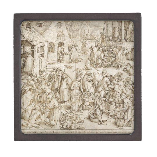Caritas (Charity) by Pieter Bruegel the Elder Gift Box