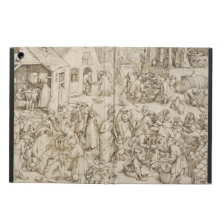 Caritas (Charity) by Pieter Bruegel the Elder iPad Air Covers