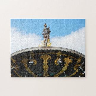 Caritas Well Fountain - Copenhagen, Denmark Jigsaw Puzzles