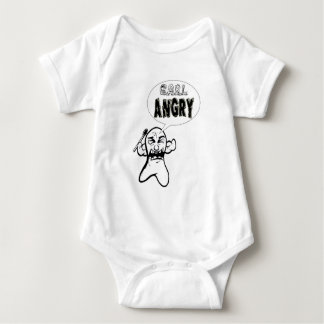 Carl ANGRY!!! Baby Bodysuit
