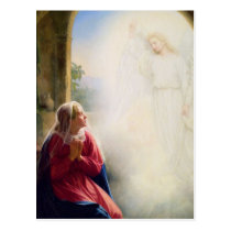 Carl Bloch Annunciation Postcard