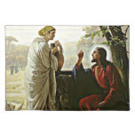 Carl Bloch: Woman at the Well painting Placemat